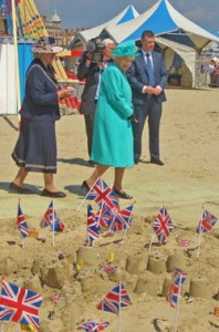 Queen Elizabeth Weymouth Beach