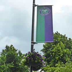 Wimbledon flag