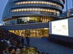 Outdoor cinema London