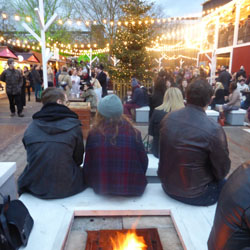 Festive London South Bank Christmas Market