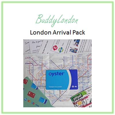 BuddyLondon Arrival Pack