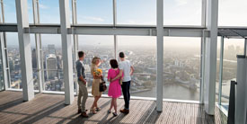 The View from The Shard entry & champagne, Only £30.95!