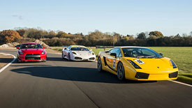 50% off Triple Supercar Blast and Hot Ride, Was £164, Now £80