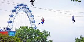 Ziplining London