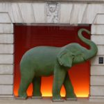 Elephants in London, Elephant Apex Temple Court Hotel London