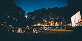 Travelzoo Ticket to a Pop-Up Outdoor Cinema Screening, half price!