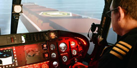 Travelxzoo: 60-minute helicopter flight-simulator experience, Only £65!
