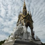 Elephants in London, Albert Memorial