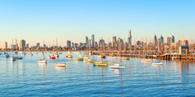 Travelzoo Melbourne Beach Stay for 2 with Wine, Save up to 49%