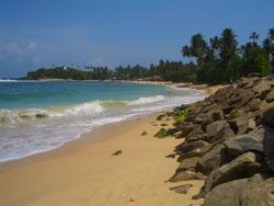 Unawatuna Sri Lanka beach