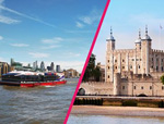 Tower of London Entry and Sightseeing Cruise for Two